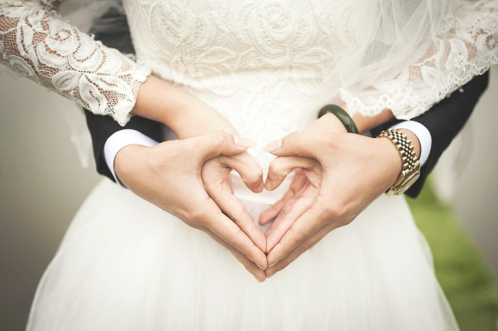 digitale Photos für Hochzeiten